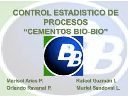 """CONTROL ESTADISTICO DE PROCESOS """"CEMENTOS BIO …"""