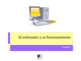 El ordenador y su funcionamiento