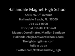 Hallandale Magnet High School