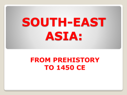 SOUTH-EAST ASIA: