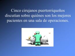 Cirujanos