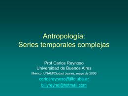 Series temporales complejas
