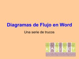 Diagramas de flujo en word.pps