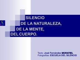 SILENCIO DE LA NATURALEZA