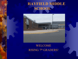 Hayfield Middle School - Fairfax County Public Schools