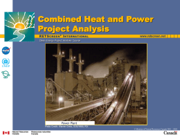 Biomass Heating Project Analysis