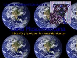 Carta Mesoamericana