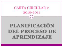 CARTA CIRCULAR 2 2010-2011