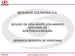 FONDO OFICIAL DE PRESENTACIONES COLPATRIA
