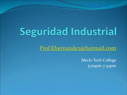 Seguridad Industrial