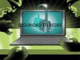 SEGURIDAD EN REDES - seguridadenredes2009