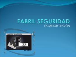 FABRIL SEGURIDAD - Equipos Blindados Fabril