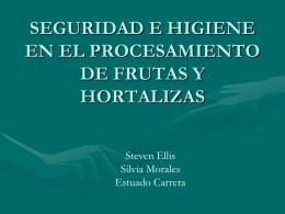 SEGURIDAD E HIGIENE EN EL PROCESAMIENTO DE …