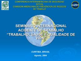 CONFERENCIA INTERAMERICANA DE SOCIAL SEGURIDAD …