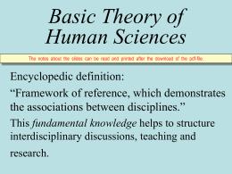 Das Nervensystem und seine Wissenschaften