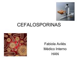 CEFALOSPORINAS - Clases y Libros