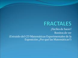 FRACTALES - tras