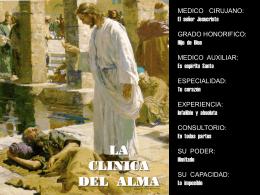 LA CLINICA DEL ALMA - Devocionales Cristianos
