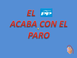 ACABAR CON EL PARO - Sindicato USTEA