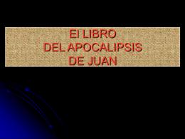 LIBRO DEL APOCALIPSIS DE JUAN