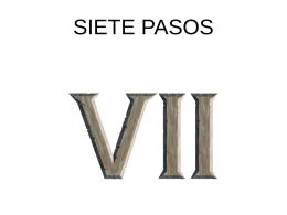 SIETE PASOS - La Hora de la Etica | Un espacio para
