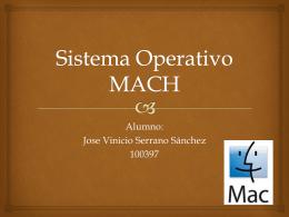 Sistema Operativo MACH