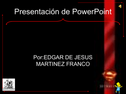 Presentacion de powerpoint