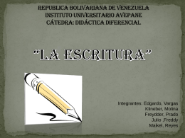 Republica Bolivariana De Venezuela Instituto Universitario