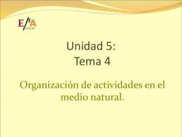 Unidad 5: Tema 4