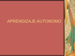 APRENDIZAJE AUTONOMO - IHMC CmapServer 5.04