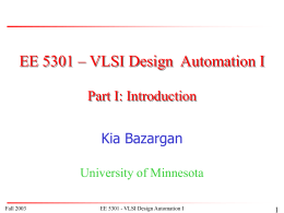 PowerPoint Presentation: EE5324-Intro