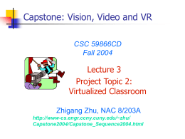 3D Virtualized Classroom - City University of New York