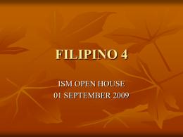 FILIPINO 4