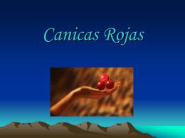 Reflexiones 'Canicas Rojas'