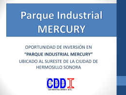 Parque Industrial MERCURY