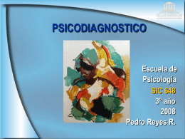 PSICODIAGNOSTICO - Psicodiagnosticoudla's Weblog
