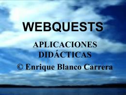 WEBQUESTS - ecobachillerato.com