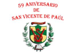 59 aniversario de san vicente de paul