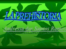 LA PREHISTORIA - Educastur Hospedaje Web