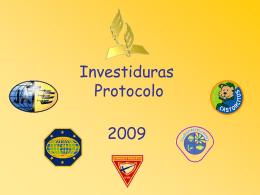 Investiduras y Protocolo