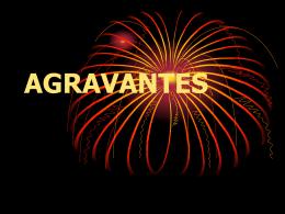AGRAVANTES
