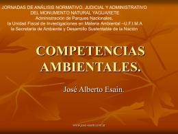 COMPETENCIAS AMBIENTALES.
