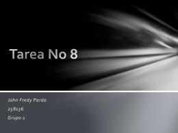 Tarea No 8