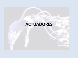 ACTUADORES - marcelahdz