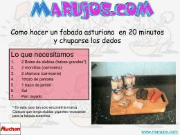Como hacer un fabada asturiana en 15 minutos y …