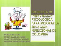 PROPUESTA DE INTERVENSION PSICOLOGICA PARA …