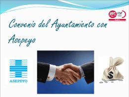 Convenio del Ayuntamiento con Asepeyo