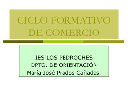 CICLO FORMATIVO DE COMERCIO