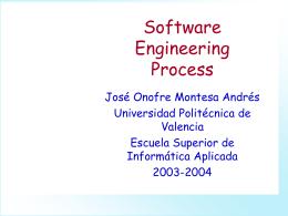 El Proceso de Desarrollo del Software