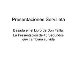Presentaciones Servilleta